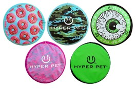 "Dog Frisbee Fetch Toy Soft Rubber Floating Flopper Flyer Disc 9"" Choose ... - £10.61 GBP+"