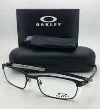 New OAKLEY Titanium Eyeglasses TINCUP OX3184-0152 52-17 Powder Coal Blac... - $278.90