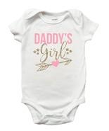Daddys Girl Shirt, Daddys Girl Onesie, Daddys Girl Fathers Day Shirt - $11.99+