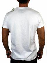 NEW DIESEL INDUSTRY LOGO MEN'S DESIGNER PREMIUM COTTON T-SHIRT TEE WHITE SIZE S image 4