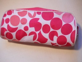 Clinique Cosmetic Makeup Bag Pouch w/Zipper Stash Bag Travel Bag Carry Bag Hand  - $12.99