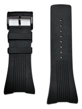 Hamilton Pulsomatic Black Rubber Strap Watch Band Fits H52585339 or H52545339 - $165.00