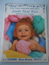 Vintage Lovable Hand Knits Infants to 4 Years Instruction Book - $4.99