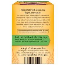 Yogi Tea, Green Tea Super Antioxidant, 16 Tea Bags, 1.12 oz (32 g) image 2