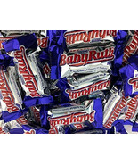 Baby Ruth Fun Size Treats Candy, Rich Caramel Chewy Nougat Bar, Bulk 2Lbs - $19.39