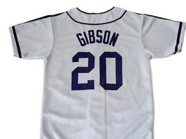 Josh Gibson #20 Homestead Grays Negro League New Baseball Jersey Grey Any Size image 5
