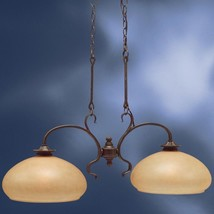 Elegant Kitchen Island Light Fixture Chandelier Bronze Finish Kichler Lighting - $182.69