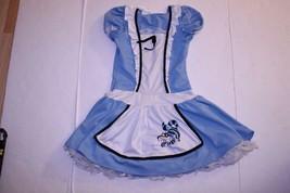 Youth Girls Alice In Wonderland Tween L (10/12) Halloween Costume California Cos - $18.69