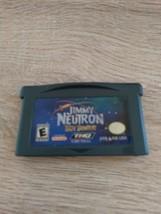 Nintendo Game Boy Advance GBA Nickelodeon Jimmy Neutron Boy Genius image 2