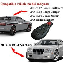 Key Fob Compatible for 2008-2010 Chrysler 300 2008-2012 Dodge Challenger 2008-20 image 5