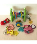 Baby Toys Lot Activity Ball Teether Rattle Developmental Play Links Stro... - $19.99