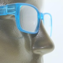 Reading Glasses Modernist Frosted Simple Tech Spring Hinge Frosted Aqua +1.75 - $18.00