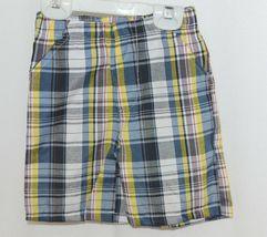 Little Rebels Surf Club Short and Shirt Set Orange Plaid Size 2T image 3