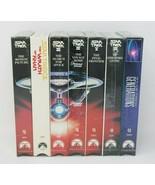 Vintage Original Star Trek VHS Movie Set Factory Sealed 7 Tapes Total - $29.21