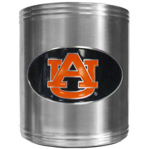 auburn tigers logo ncaa college emblem color steel can cooler usa made - $18.04