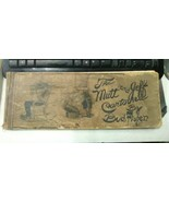 Rare 1910 The Mutt And Jeff Cartoons By Bud Fisher Comic Strip Hardcover... - $60.00