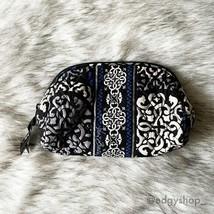 Vera Bradley | Wedge Cosmetic Canterberry Cobalt - $20.00