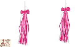 SUNLITE BOW PINK BICYCLE STREAMERS - $7.91