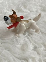 Vtg Disney Oliver & Company Dodger Dog Jointed PVC Figure - $11.87