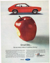Vintage 1971 Magazine Ad Ford Pinto Priced Small But Big On Value & Performance - $5.93