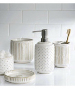 New Ceramic Soap Dispenser Bottle Liquid Soap with Pump Dispenser - $19.79