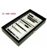 PEN CASE BOX ORGANIZER Display Antique PEN COLLECTION  - $38.65
