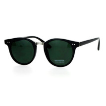 Vintage Retro Unisex Fashion Sunglasses Round Horn Rim Double Frame - $10.95