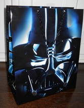 Star Wars Darth Vader Large Gift Bag Birthday Party Supplies Chain Handle New - $2.92