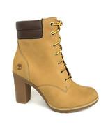 Timberland Women's Tillston 6 Inch Wheat Nubuck Leather Boots A1KJH - $99.99