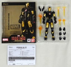 Bandai S.H.Figurines Iron Man Marvel Age Of Héros Exposition Action Figu... - $143.01