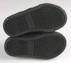 Cat & Jack Toddler Boys' Huxley Black Faux Leather Sneaker Shoes 6 US NWT image 7