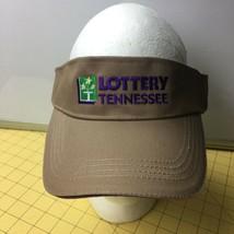 Tennessee Lottery Visor Tan Unisex Cap Hat Caps Hats Snapbacks - $15.63