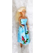 """2011 Mattel Barbie Doll 11 1/2"""" Jointed Knees - Rigid Elbows - Button on... - $8.59"""