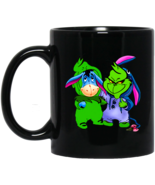 Grinch and Eeyore We are Friends BM11OZ 11 oz. Black Mug - $17.50