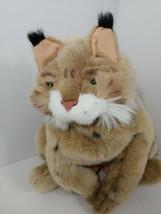 Folkmanis Bobcat Lynx Plush Hand Puppet Full Body Stuffed Animal Toy  - $19.79