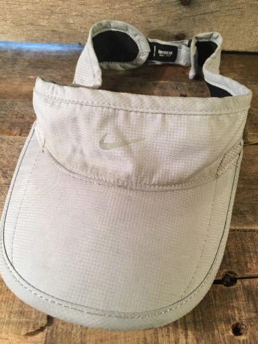 NIKE Visor Daybreak Dri-Fit Grey Adjustable Adult Cap Hat