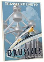 "Pingo World 0209QEZ867Y ""Steve Thomas Trans euro Line to Brussels"" Galle... - $48.46"