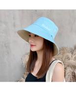 Blahur Double-sided fisherman hat cover face sunscreen UV sun visor big ... - $9.99