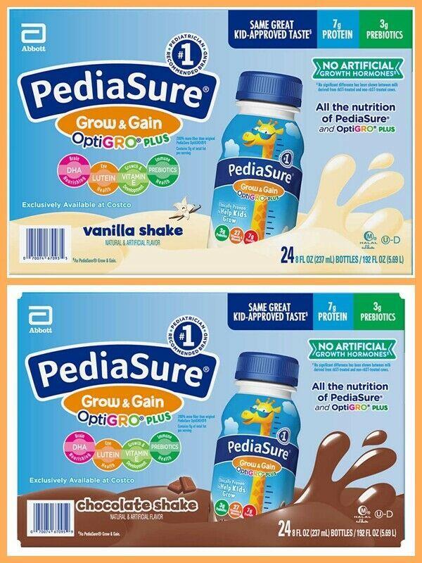 PediaSure OptiGRO Kids Shake 8 fl oz 24-count Freeshipping - $45.00