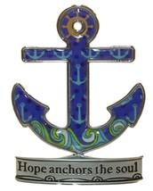 "Paradise Figurine - Ship Anchor ""Hope anchors the soul"" - $8.99"