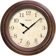 Westclox 33883P 10 Realistic Woodgrain Wall Clock - $26.64