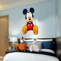 Mickey Mouse Disney 3D Window Decal WALL STICKER Home Decor Art Mural  - $6.92+