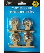 "Magnetic Clips for Magnetic Whiteboards Refrigerators Cabinets 1.3""W x 1... - $2.96"