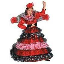 Dress Up America Girl's Flamenco Dancer Costume size 8-10 - $32.50