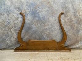 Wishbone Mirror Frame Supports Dresser Wash Stand Vintage Furniture Parts g - $124.00