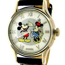 Mickey Minnie Fossil Lady Silver 'Mickey & Co.' No # /5000 New Unworn Wa... - $147.36