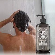 Best Deal Beard Conditioner w/Argan & Jojoba Oils - Softens & Strengthens - Natu image 5