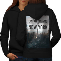 Dream Urban Photo New York Sweatshirt Hoody Urban Dreams Women Hoodie Back - $21.99+
