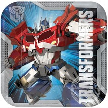 Transformers 4 Core Lunch Plates 8 Per Package Birthday Party Supplies Amscan - $4.70