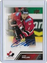 2013 Upper Deck Team Canada Signatures Chris Phillips #27 (D4) - $8.45